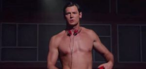 "Benjamin Walker as Patrick Bateman in ""American Psycho the Musical"" on Broadway."