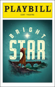 """Bright Star"" Playbill cover"
