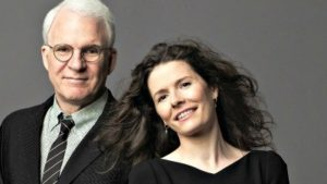 "Steve Martin and Edie Brickell, authors of ""Bright Star."""