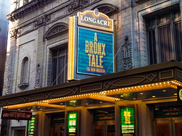 A Bronx Tale at The Longacre