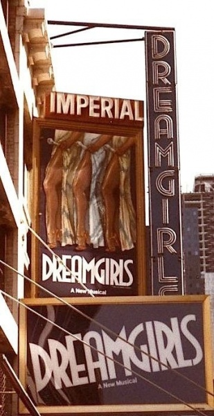 Dreamgirls, at the Imperial