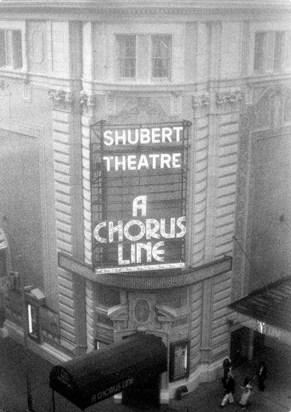 A Chorus Line at the Shubert