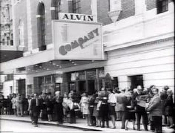 """Company"" at the Alvin, 1970"