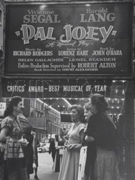 """Pal Joey"" 1952 Revival at The Broadhurst"