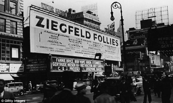 """""""Ziegfeld Follies of 1936"""" at The Winter Garden"""