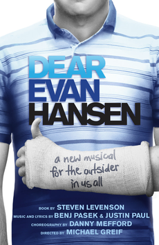 """""""Dear Evan Hansen"""" is currently playing at Second Stage through May 22nd."""