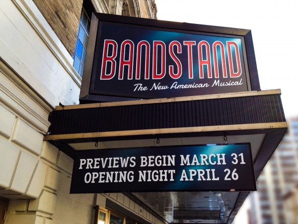 Bandstand at The Jacobs Theatre