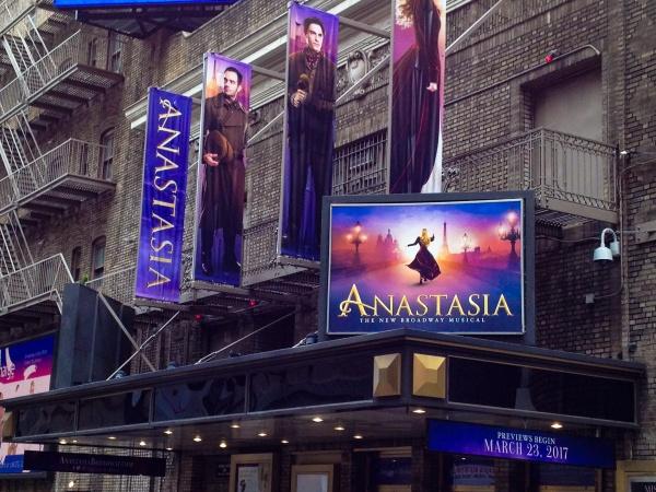 Anastasia at The Broadhurst