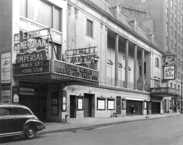 "Ethel Merman, ""Annie Get Your Gun,"" at the Imperial, 1946"